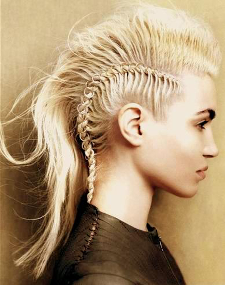 Braided mohawk hairstyles beautiful hairstyles