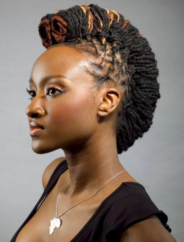 Mohawk Hairstyles For Black Women Beautiful Hairstyles