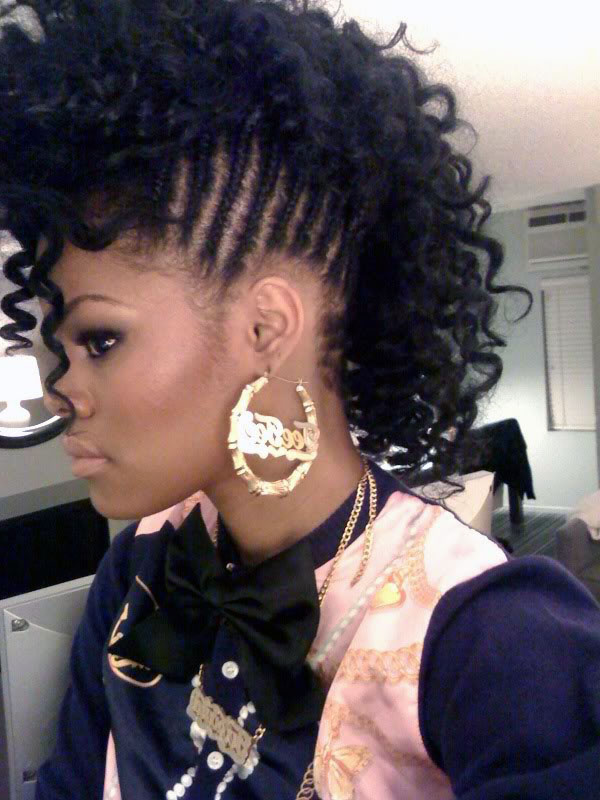 Remarkable mohawk braids hairstyles for black women