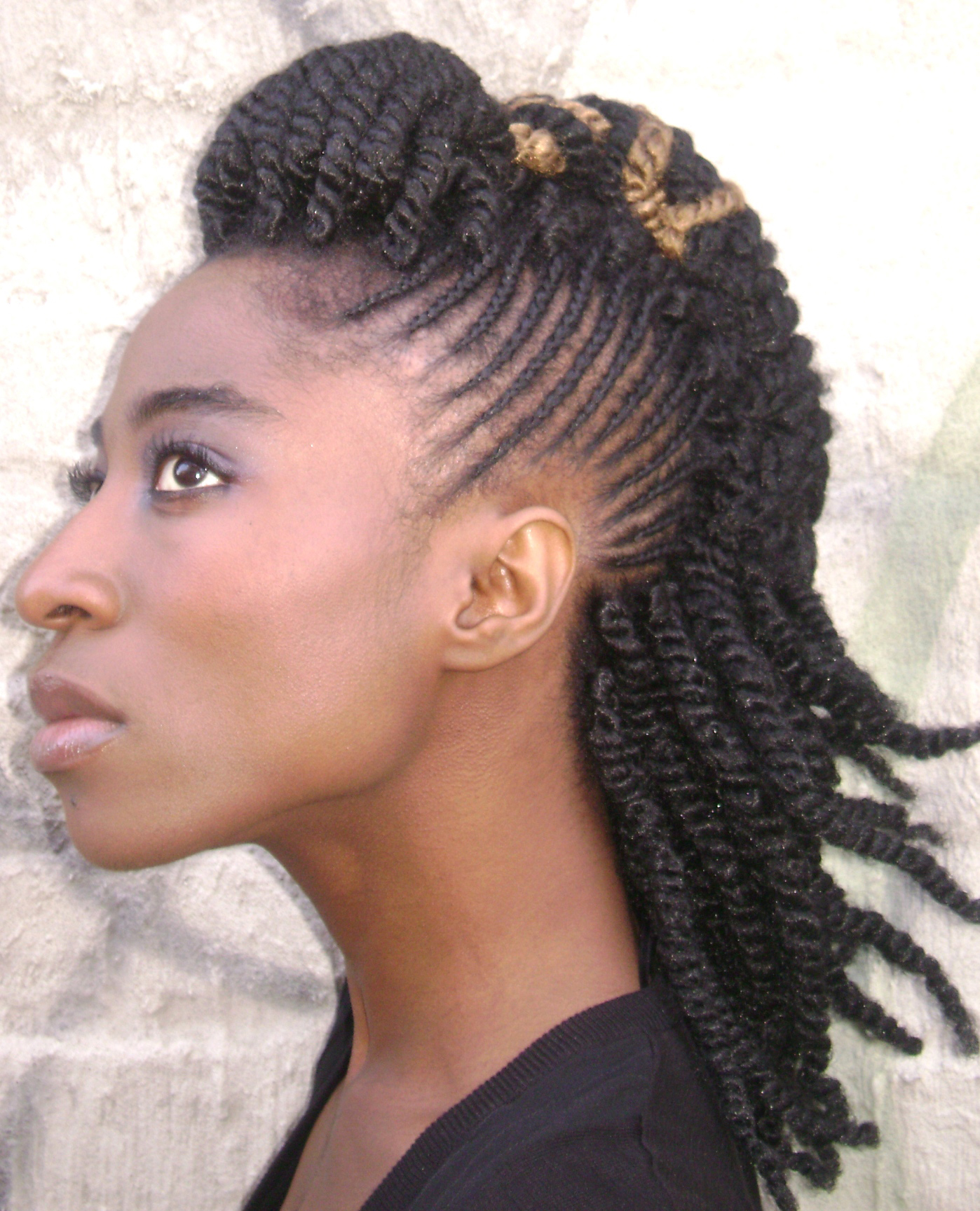 Natural Twist Hairstyles | Beautiful Hairstyles: www.beautifulhairstyle.net/natural-twist-hairstyles