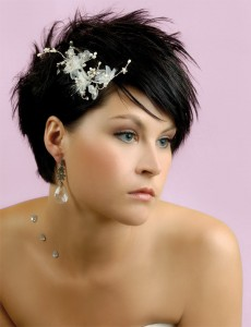 Party Hairstyles For Short Hair