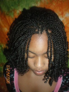 Pictures of Kinky Twist Hairstyles