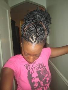 Pictures of Kinky Twists Hairstyles