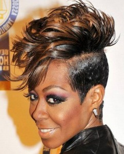 Pictures of Mohawk Hairstyles For Black Women