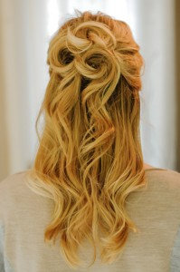 Prom Half Updo Hairstyles