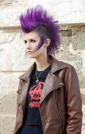 Punk Rock Hairstyles | Beautiful Hairstyles Рок Стрижки