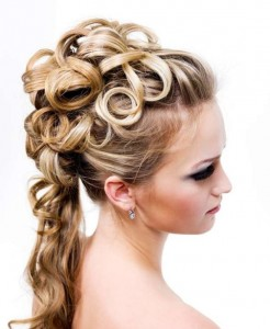 Quinceanera Hairstyles With Curls