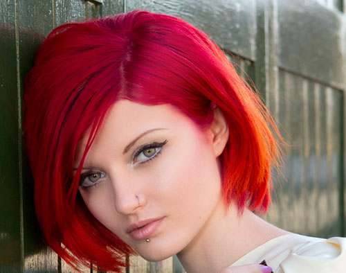 hair color for short hair styles hairstyles beautiful hairstyles 7833 | Red Bob Hairstyles