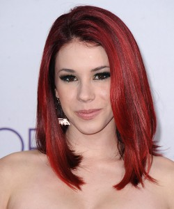 Red Medium Hairstyles
