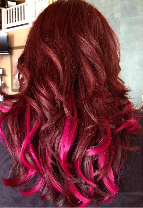 Hairstyles For Long Hair With Color : Ombre Hairstyles Beautiful Hairstyles