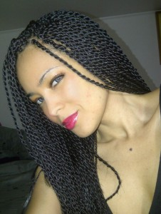 Senegalese Twists Hairstyles