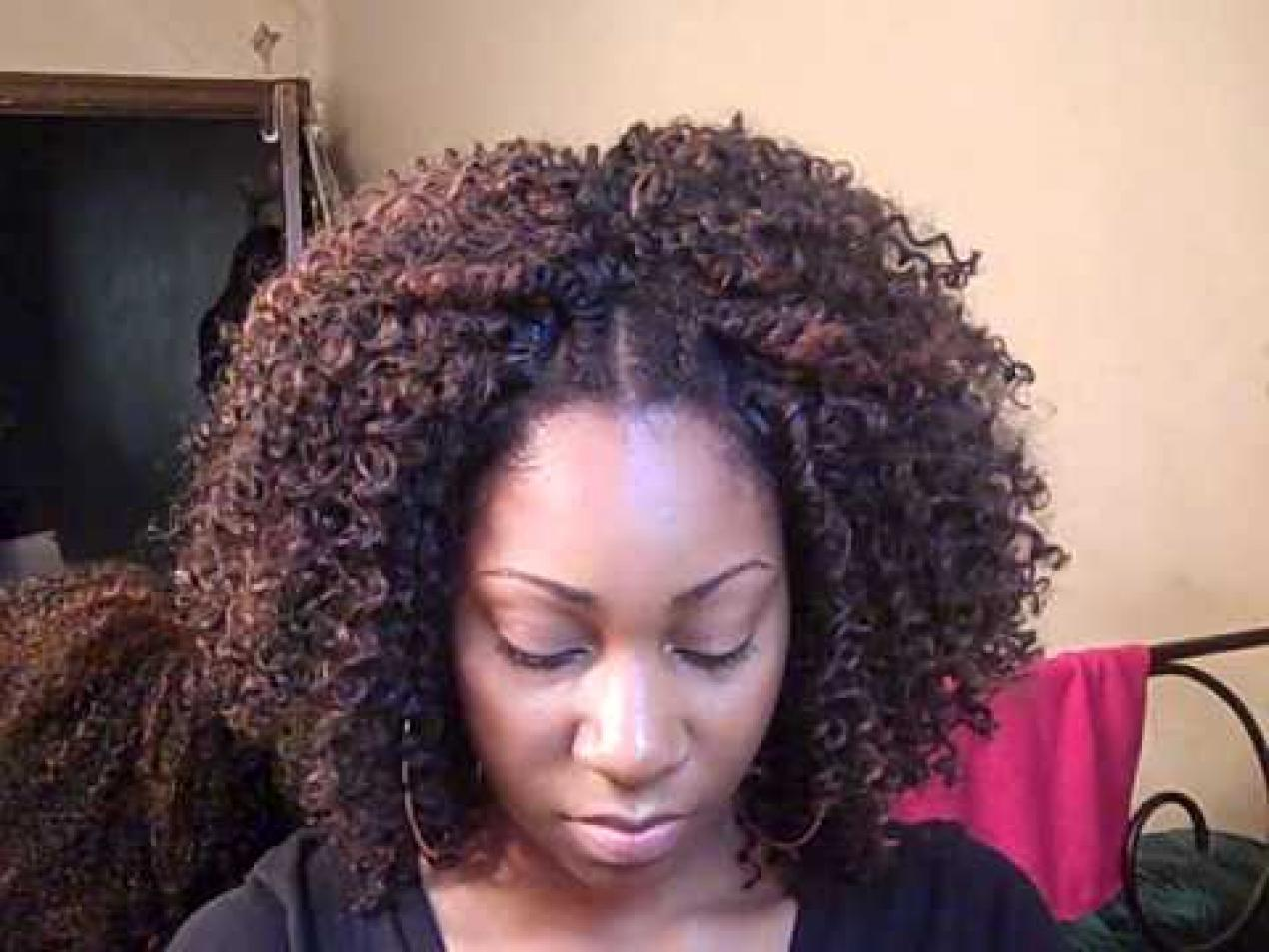 Natural Hair Sew in Weave