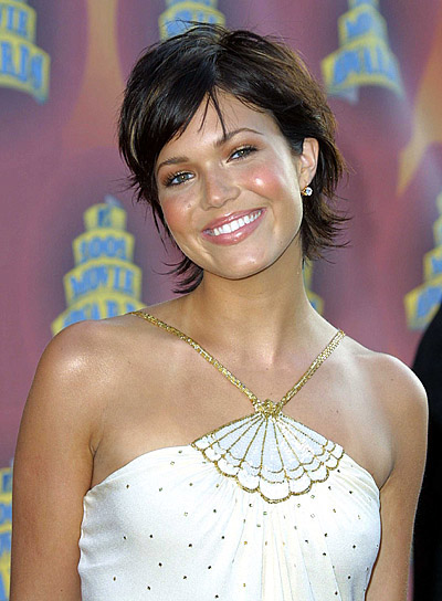Pics Photos - Short Brunette Shag Hairstyles Hairstyle