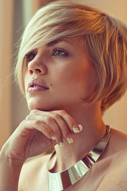 Fantastic Short Layered Bob Hairstyles For Long Faces  Hollywood Official