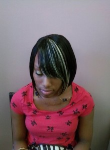 Short Sew In Weave Hairstyle