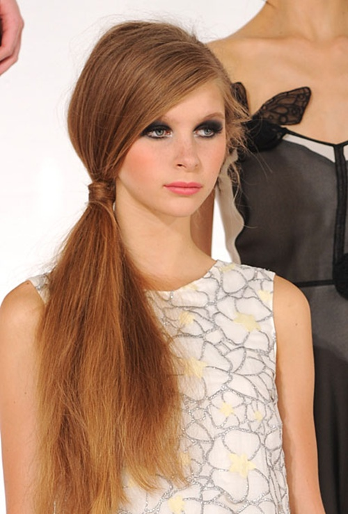 Side Ponytail Hairstyles | Beautiful Hairstyles