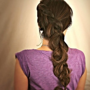 Simple Hairstyles For School