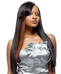 Straight Weave Hairstyle