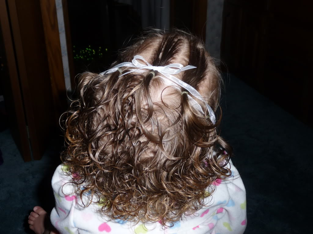 Toddler Girl Hairstyle Ideas for Curly Hair