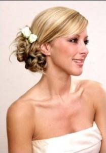 Wedding Hairstyles Side Bun