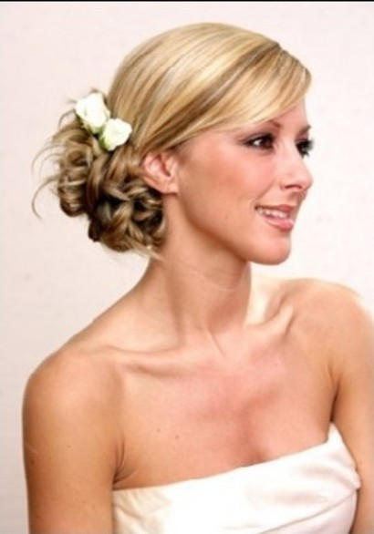 side wedding hairstyles : Side Bun Hairstyles Beautiful Hairstyles