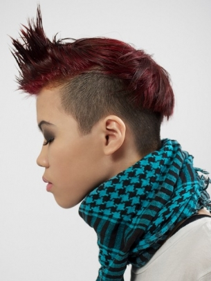 Short Mohawk Hairstyles Beautiful Hairstyles