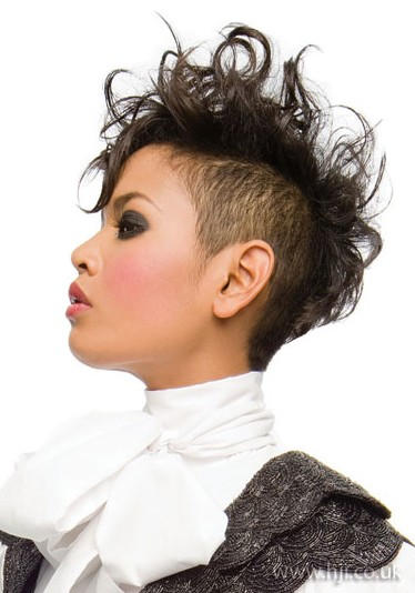 Hairstyles For Short Hair Mohawk : ... short mohawk hairstyle source black men short mohawk hairstyle source