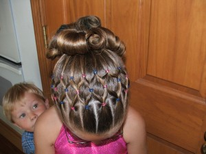 Cute Gymnastics Hairstyles