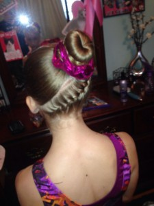 Easy Gymnastics Hairstyles