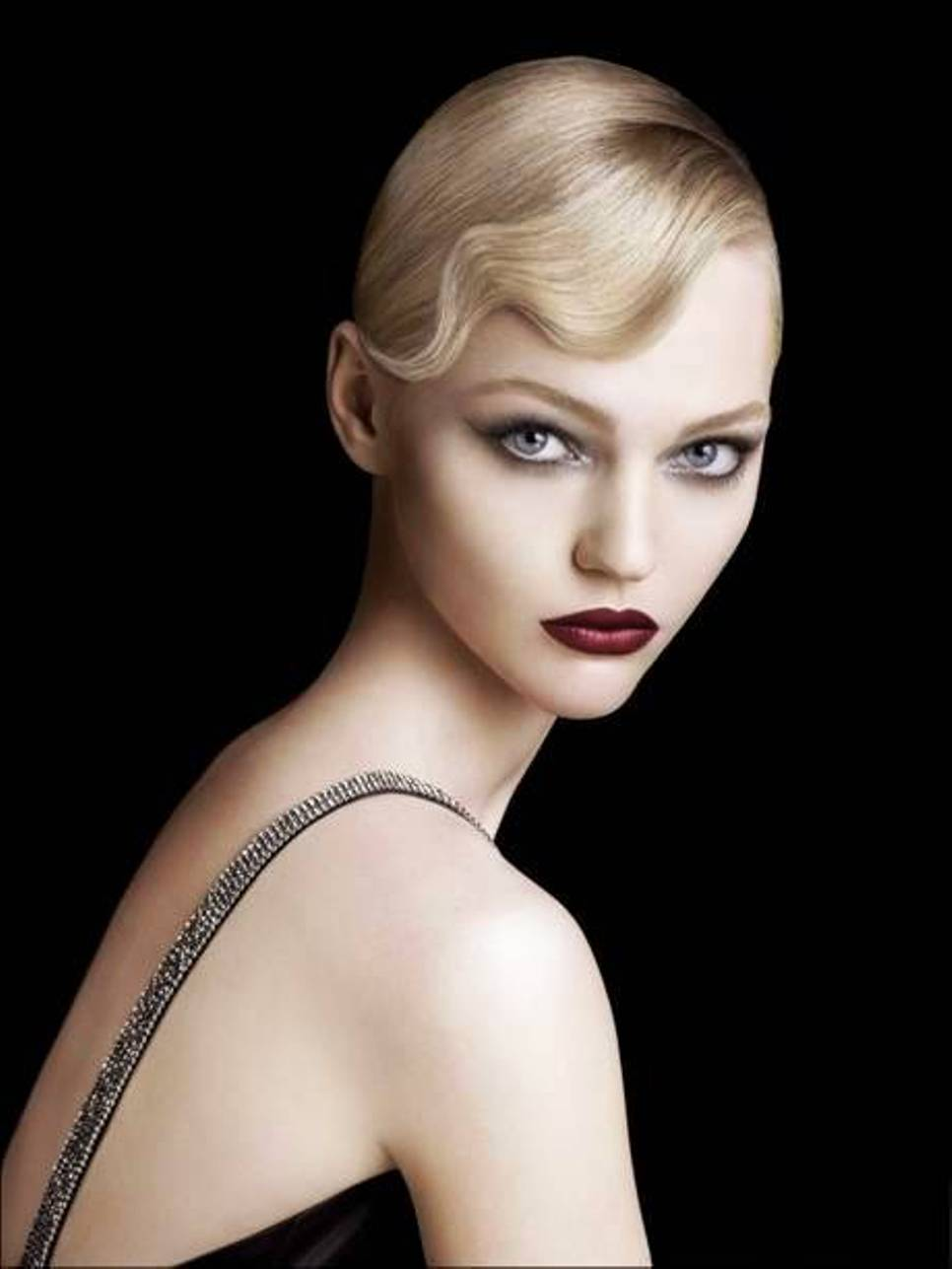 short hairstyles for big women : Finger Wave Hairstyles Beautiful Hairstyles