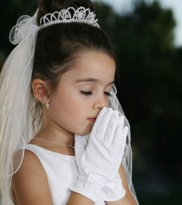 First Communion Hairstyles For Girls