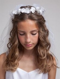 First Holy Communion Hairstyles