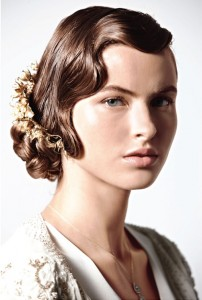 Flapper Hairstyle For Long Hair