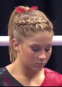 Gymnastics Hairstyles