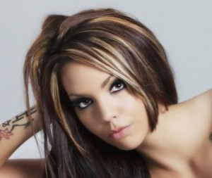 Hairstyle With Highlights