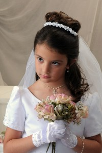 Hairstyles For First Holy Communion