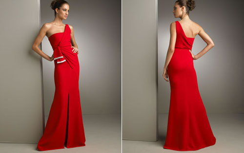 Hairstyles For One Shoulder Dresses   Beautiful Hairstyles