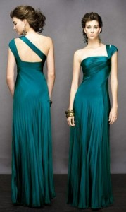 Hairstyles For One Shoulder Dresses Pictures