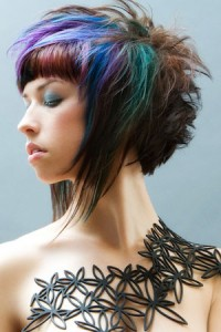 Hairstyles With Two Colors